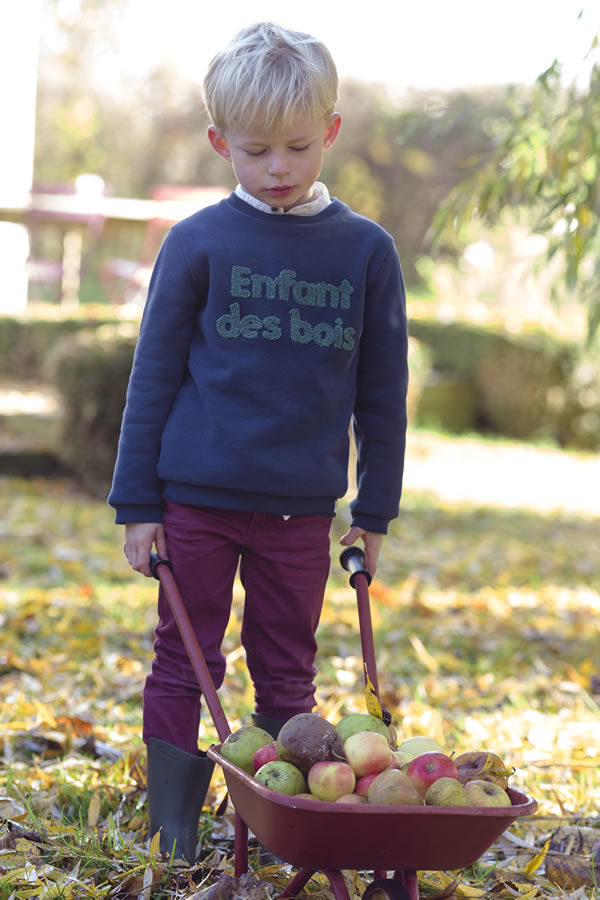 SWEAT ENFANT DES BOIS
